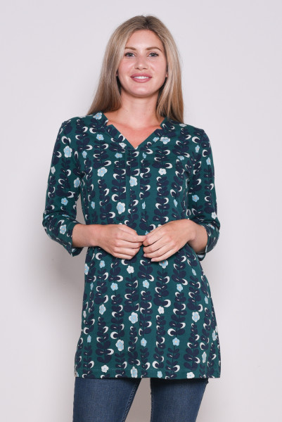 TRAILING FLOWER TUNIC